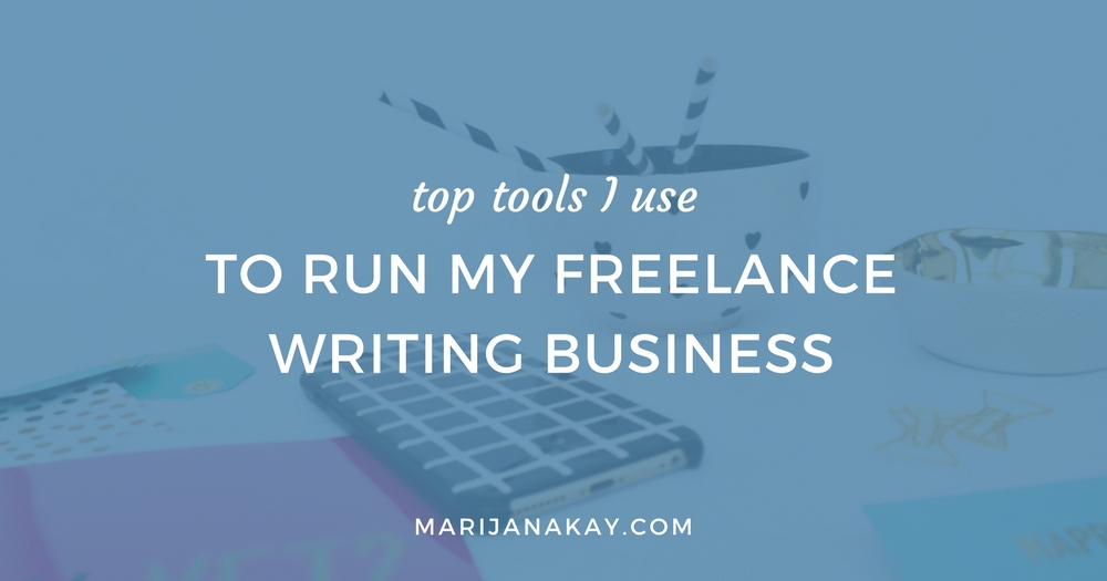 If you want to make sure your freelance writing business is flowing easily and growing the way you want it to, I have a number of tools I use to set up and run all my processes.