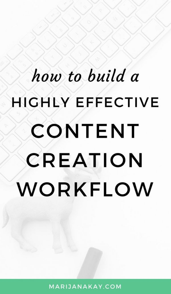 This content productivity guide will help you write your blog posts and create your content fast and efficiently. It's a great workflow to follow when you don't want to sacrifice your content quality. Click through to learn more!