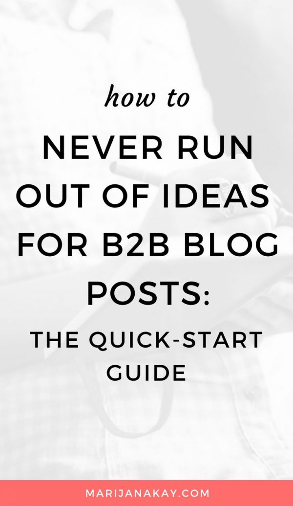 In this post, I go in-depth all about blog post topic brainstorming, including tools and frameworks. You'll never run out of ideas again and you will achieve your content marketing goals!