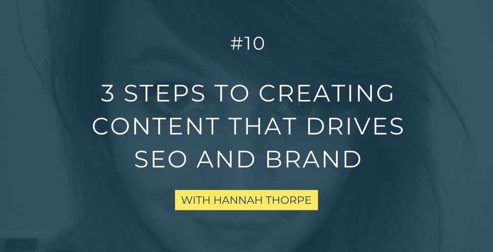 In this episode, the SEO pro Hannah Thorpe takes you into tools, frameworks, and examples so you can become the preferred choice for your audience in search engines.