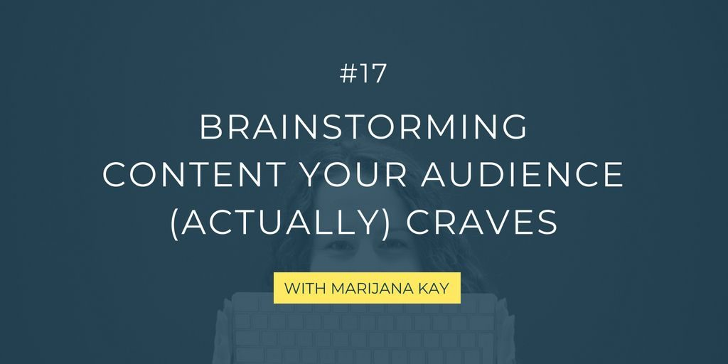 This guide takes you through my topic brainstorm for blog posts, videos, podcasts, and everything else your audience cares about and wants to read, listen, and watch!