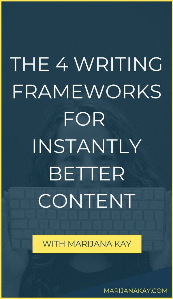 Want your content marketing to be more simple yet original? Want to write faster thanks to great outlines? Check out these four writing frameworks to help you out.