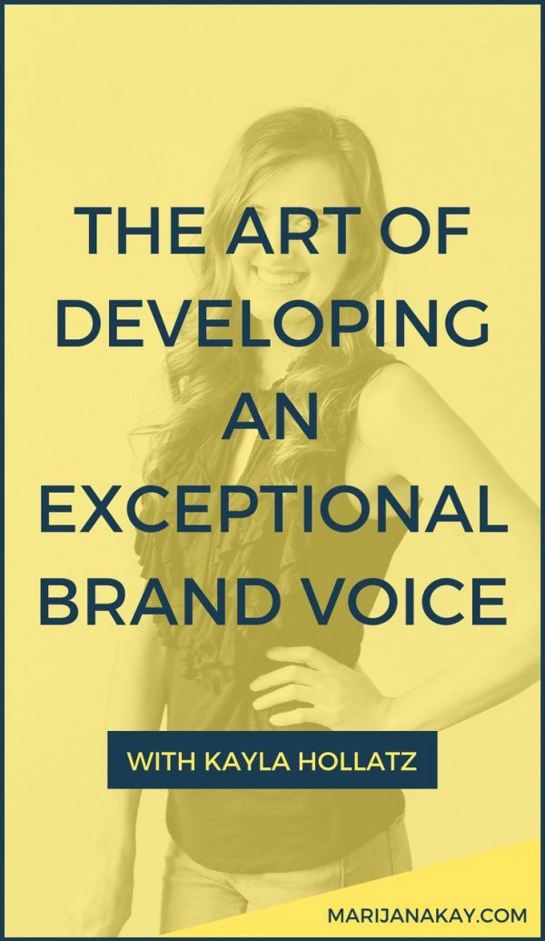 Ever feel like your website copy and your overall online presence could use a little more of your unique voice? This episode takes you through a copywriter's process for brand voice development. Click through to listen!