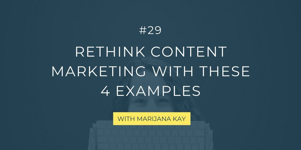 Want to get inspired by successful and not so obvious content marketing examples? Check these out and get ideas and inspiration for your content strategy, too!