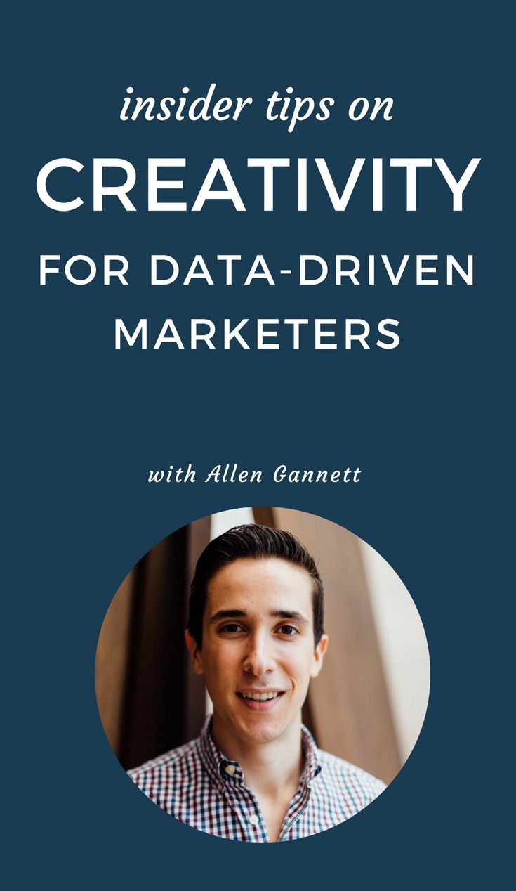 Content Love #30: Insider Tips on Creativity For Data-Driven Marketers With Allen Gannett
